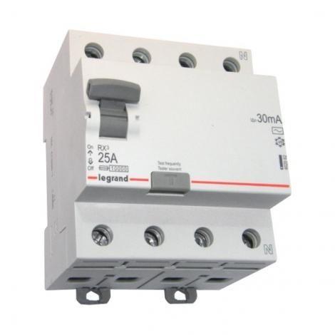 Wyłącznik Różnicowoprądowy RX3 25A 4P Legrand 2828780100