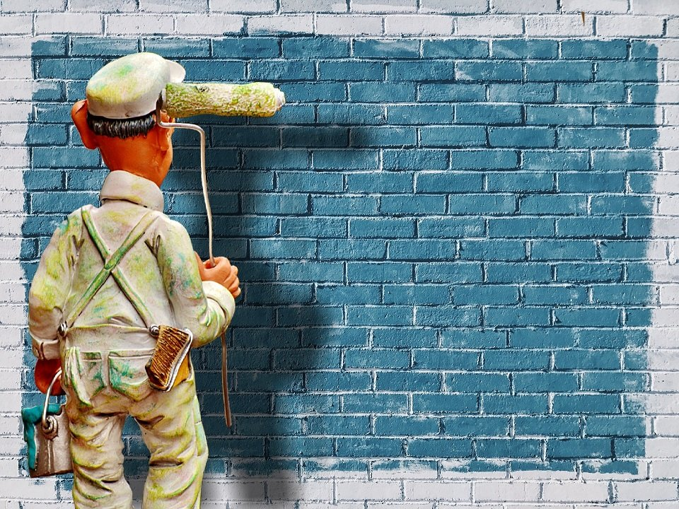 malowanie elewacji, jak malować elewację, jak pomalować elewację, kiedy najlepiej malować elewację